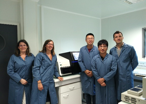Micro-ecological platform researchers travel to France for meteogenomics technology exchange